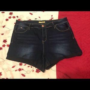 YMI Denim Shorts, Wanna Betta Butt?  Size 16